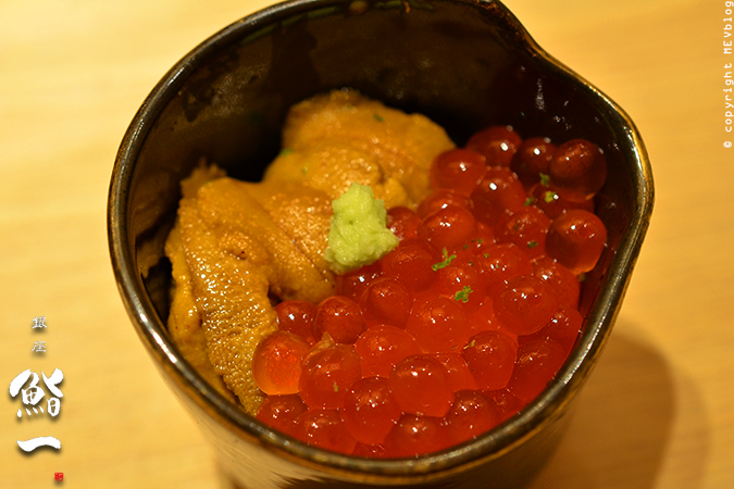 Uni & Ikura Don – Sea Urchin & Salmon Roe on Sushi Rice