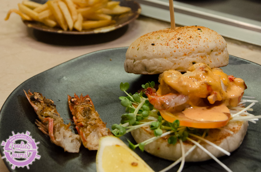 King Tiger Prawn Burger (490B)