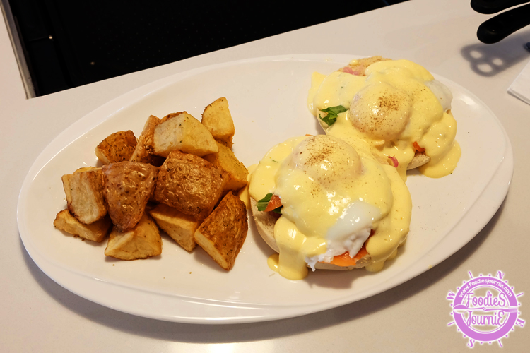 slappy 12 egg benedict
