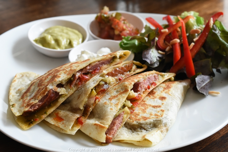 Cafe Kokotel 11-Smoked Duck & Roasted Pear Quesadilla 2