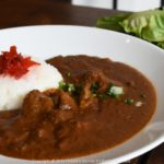 Cafe Kokotel, Kokotel hotel, curry rice