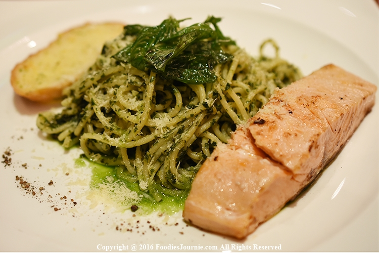 Brick 13 Salmon pesto