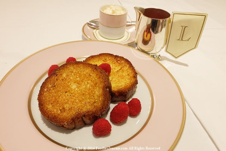 French toast, Laduree, Siam, Paragon, French, Laduree Salon