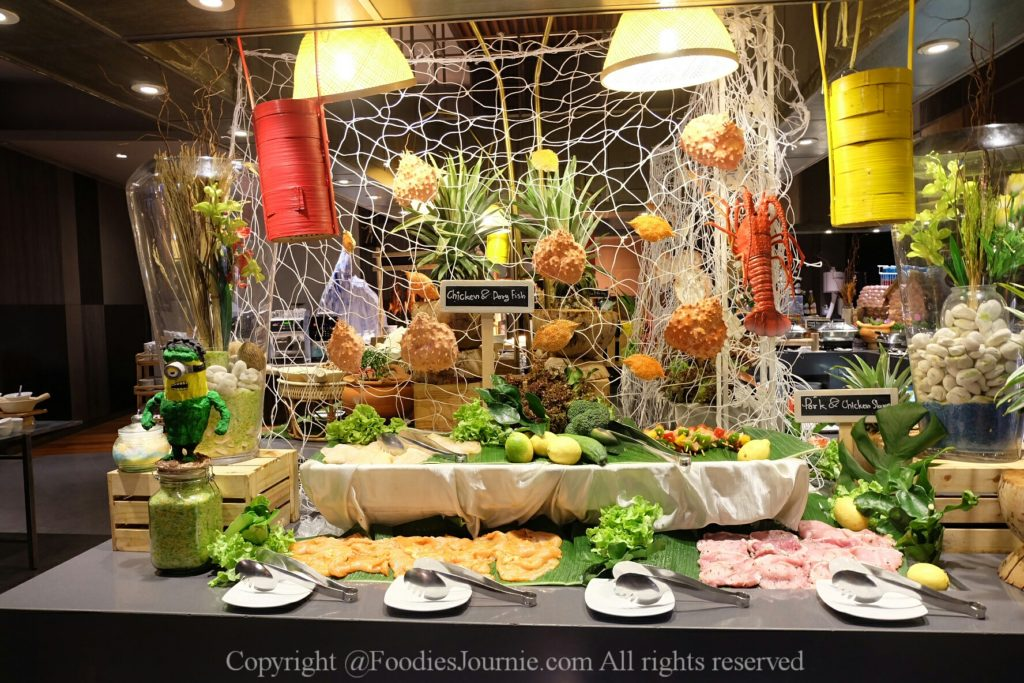 Crab, Buffet, Seafood buffet, Novotel, Novotel Platinum, Pratunam, The square,